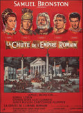 """Movie Posters:Drama, The Fall of the Roman Empire (Rank, 1964). Folded, Fine/Very Fine. Full-Bleed French Grande (46.25"""" X 62.5"""") Style A,..."""