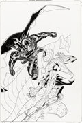 Original Comic Art:Covers, Steve McNiven and Mark Morales Marvel Knights Spider-Man #18 Cover Original Art (Marvel, 2005)....