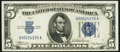 Fr. 1650 $5 1934 Silver Certificate. About Uncirculated