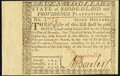 Rhode Island July 2, 1780 $7 Choice About New