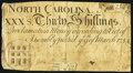 North Carolina March 9, 1754 30s Fine