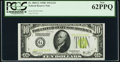 Fr. 2003-G $10 1928C Federal Reserve Note. PCGS New 62PPQ