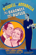 Movie Posters:Comedy, The Baroness and the Butler (20th Century Fox, 1938). Fine...