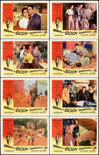 "Invasion of the Body Snatchers (Allied Artists, 1956). Near Mint/Mint. Lobby Card Set of 8 (11"" X 14""). ... (T..."