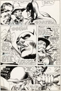 Original Comic Art:Panel Pages, Neal Adams The Brave and the Bold #84 Story Page 14 Original Art (DC, 1969)....