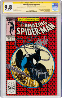 The Amazing Spider-Man #300 Signature Series (Marvel, 1988) CGC NM/MT 9.8 White pages