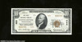 National Bank Notes:Massachusetts, Easthampton, MA - $10 1929 Ty. 2 The First NB Ch. # ...