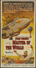 "Movie Posters:Science Fiction, Master of the World (American International, 1961). Three Sheet(41"" X 81""). Science Fiction...."
