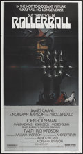 """Movie Posters:Science Fiction, Rollerball (United Artists, 1975). Three Sheet (40.5"""" X 77"""").Science Fiction...."""