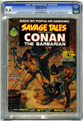 Magazines:Superhero, Savage Tales #2 (Marvel, 1973) CGC NM 9.4 Off-white to whitepages....