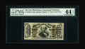 Fractional Currency:Third Issue, Fr. 1336 50c Third Issue Spinner PMG Choice Uncirculated 64 EPQ....