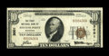 National Bank Notes:Wisconsin, Stevens Point, WI - $10 1929 Ty. 1 The First NB Ch. # 3001. ...