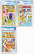 Bronze Age (1970-1979):Humor, Richie Rich Millions #95, 97, and 106 Group (Harvey, 1979-81) CGC NM/MT 9.8.... (Total: 3 Comic Books)