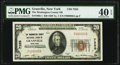 National Bank Notes:New York, Granville, NY - $20 1929 Ty. 1 The Washington County National Bank Ch. # 7255 PMG Extremely Fine 40 EPQ.. ...