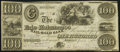 Obsoletes By State:Michigan, Adrian, MI- Erie and Kalamazoo Rail Road Bank $100 June 9, 1863 Lee 58 Very Fine.. ...