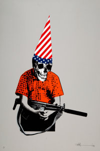 Paul Insect (b. 1971) Dunce Boy, 2007 Screenprint in colors on wove paper 30-1/2 x 20-1/2 inches