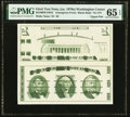 Giori Press Test Note Washington at Center Uncut Face and Back Pair ND (1976) Rothberg RGMBW1/0NS PMG Gem Uncirculated 6...