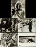 """Movie Posters:Thriller, Ice Station Zebra & Other Lot (MGM, 1969). Overall: Very Fine-. Photos (5) (8""""X 10""""), Programs (6) (Multiple Pages, 5.5"""" X 8... (Total: 28 Items)"""