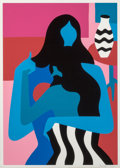 Prints & Multiples, Parra (b. 1976). Safety Dance, 2019. Screenprint in colors on paper. 27-1/2 x 19-1/2 inches (69.9 x 49.5 cm) (sheet). Ed...
