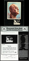 """Movie Posters:Crime, The Godfather (Paramount, 1972). Overall: Very Fine-. Uncut Pressbook (6 Pages, 12.5"""" X 15"""") & Program (Multiple Pages, 8.5""""... (Total: 2 Items)"""