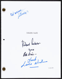 """Forbidden Planet (c. 2000s). Very Fine+. Autographed Photocopied Script (Multiple Pages, 8.5"""" X 11""""). Science..."""