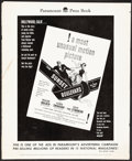"Movie Posters:Film Noir, Sunset Boulevard (Paramount, 1950). Fine. Pressbook (26 Pages, 12.25"" X 15"") with Ad Supplements (2). Film Noir.. ...."