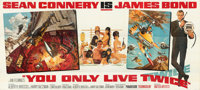 "You Only Live Twice (United Artists, 1967). Folded, Very Fine. 24 Sheet (230.75"" X 103.75""). Frank McCarthy an..."