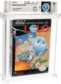 Video Games:Nintendo, Adventures of Lolo - Wata 9.2 A+ Sealed, NES HAL 1989 USA....