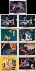 Movie Posters:Animation, Bambi (Buena Vista, R-1975). Very Fine. Lobby Card...