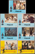 """Movie Posters:James Bond, On Her Majesty's Secret Service & Other Lot (United Artists, 1970). Overall: Very Fine-. Lobby Cards (7) (11"""" X 14""""). Frank ... (Total: 7 Items)"""