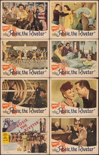 """Rosie the Riveter (Republic, 1944). Fine+. Lobby Card Set of 8 (11"""" X 14""""). Musical. ... (Total: 8 Items)"""