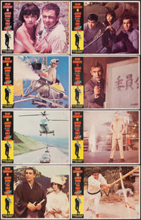 """You Only Live Twice (United Artists, 1967). Fine+. Lobby Card Set of 8 (11"""" X 14""""). James Bond. ... (Total: 8..."""