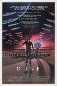 """Dune (Universal, 1984). Rolled, Very Fine/Near Mint. One Sheet (27"""" X 41""""). Science Fiction"""