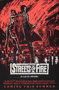 Movie Posters:Action, Streets of Fire (Universal, 1984). Rolled, Very Fine.