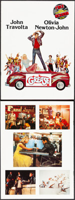 """Grease (Paramount, 1978). Very Fine+. Programs (2) Identical (20 Pages, 9"""" X 12""""). Musical. ... (Total: 2 Item..."""