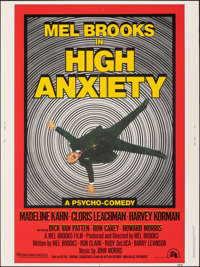 """High Anxiety (20th Century Fox, 1977). Rolled, Very Fine-. Poster (30"""" X 40""""). Comedy"""