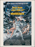 "Movie Posters:James Bond, Moonraker (United Artists, 1979). Rolled, Very Fine+. Poster (30"" X 40""). Dan Goozee Artwork. James Bond.. ..."