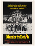 """Movie Posters:Comedy, Murder by Death (Columbia, 1976). Rolled, Very Fine/Near Mint. Poster (30"""" X 40""""). Charles Addams Artwork. Comedy.. ..."""
