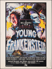 """Young Frankenstein (20th Century Fox, 1974). Rolled, Very Fine+. Poster (30"""" X 40""""). John Alvin Artwork. Comed..."""