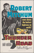 """Movie Posters:Crime, Thunder Road (United Artists, 1958). Very Fine- on Linen. One Sheet (27"""" X 41.5""""). Crime.. ..."""
