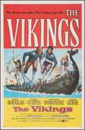 Movie Posters:Action, The Vikings (United Artists, 1958). Fine/Very Fine on Line...