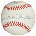 Autographs:Baseballs, Masanori Murakami Single Signed Baseball. Offered ...