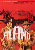 Movie Posters:Western, The Alamo (United Artists, R-early 1970s). Folded, Very Fi...