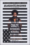 Movie Posters:Drama, BlacKkKlansman (Focus Features, 2018). Rolled, Very Fine+....