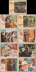 Movie Posters:Comedy, The Bowery Boys Meet the Monsters & Other Lot (Allied Artists, 1954). Overall: Fine/Very Fine. Lobby Cards (8) & Title Lobby... (Total: 9 Items)