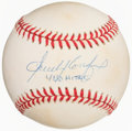 Autographs:Baseballs, Sandy Koufax Single Signed Baseball. Offered is t...