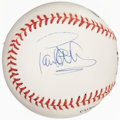 Autographs:Baseballs, Paul Newman Single Signed Baseball. Offered is th...
