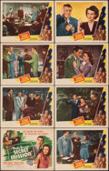 "Movie Posters:Mystery, Philo Vance's Secret Mission (PRC, 1947). Very Fine-. Lobby Card Set of 8 (11"" X 14""). Mystery.. ... (Total: 8 Items)"