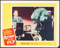 """Movie Posters:Science Fiction, Return of the Fly (20th Century Fox, 1959/R-1962). Fine/Very Fine. Lobby Card (11"""" X 14"""") & Photos (3) (8"""" X 10.25""""). Scienc... (Total: 4 Items)"""