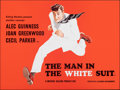 """Movie Posters:Comedy, The Man in the White Suit & Other Lot (Ealing, R-1980s). Rolled, Overall: Very Fine. British Quads (2) (30"""" X 40""""). C..."""